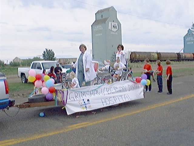 Grimshaw Hospital float